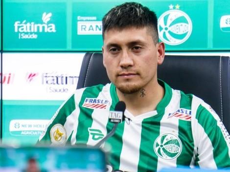 """Castillo presentado: """"Mi meta es clasificar a un torneo internacional"""""""