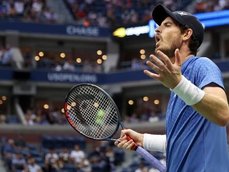 Andy Murray desata su furia contra Stefanos Tsitsipas