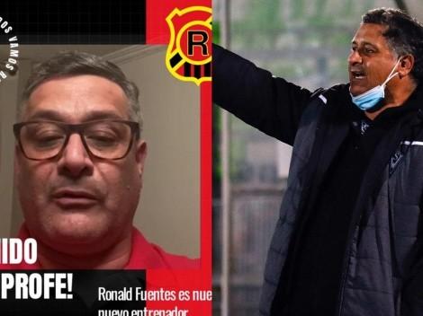 Ronald Fuentes llega a Rangers de Talca para reemplazar a Marcoleta