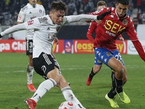 Luciano Arriagada, titular en Colo Colo contra Unión Española