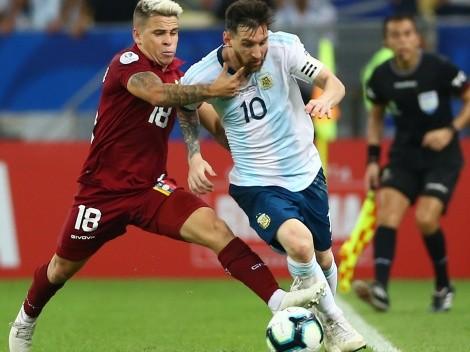 Periodista venezolano dice que Soteldo es más que Messi