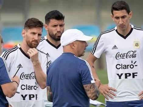 Ángel Di María vuelve a reventar a Sampaoli