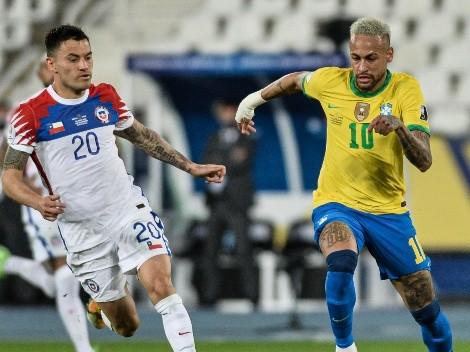 Anticipan el pronóstico de Chile vs Brasil