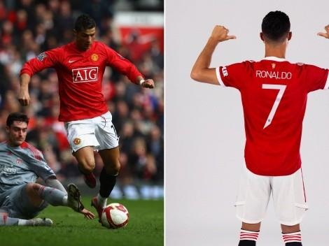 Más CR7 que nunca: Cristiano usará su mítico número en United