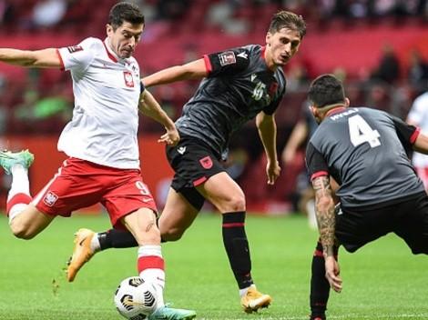 Gol y jugadón de Lewandowski: triunfazo de Polonia