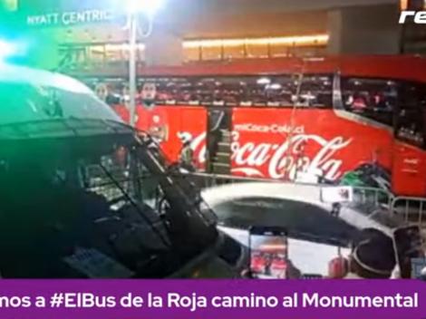 En vivo: La previa desde el hotel de Chile camino al Monumental