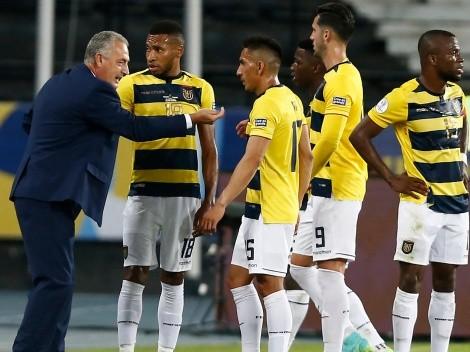 DT de Ecuador feliz por el triunfo ante Paraguay espera a Chile