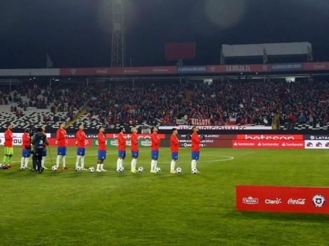 Emotivo regreso al estadio de los hinchas de la Roja