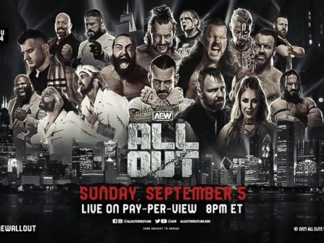 """AEW nos trae la tercera versión del evento de wrestling """"All Out"""": Hora y transmisión"""