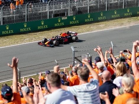 Verstappen largará desde la pole en el GP de los Países Bajos de la Formula 1: Horario