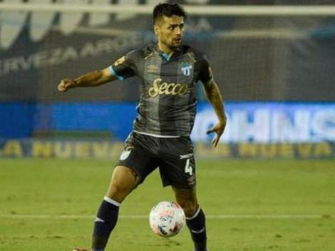 Campos se afirma en Argentina: fue titular en Atlético Tucumán