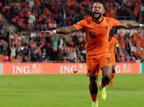 Memphis brilla con doblete y encamina a Países Bajos a Qatar