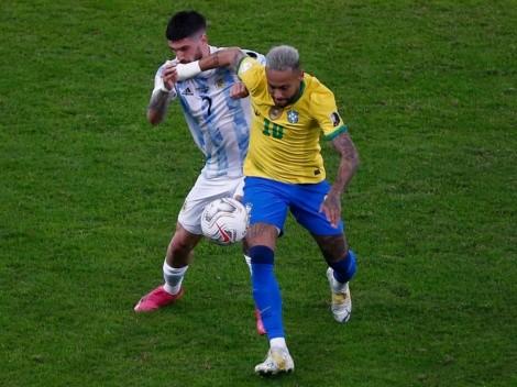 Formaciones: Brasil y Argentina salen con oncenas de miedo
