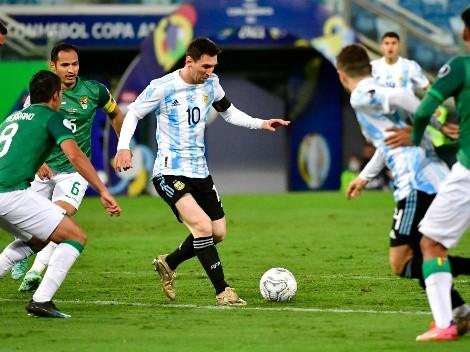 Argentina finaliza la triple fecha eliminatoria recibiendo a Bolivia: Hora y TV