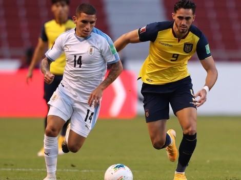 ¿Cuándo y a qué hora juegan Uruguay vs Ecuador?
