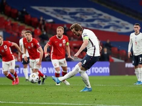 ¿Cuándo y a qué hora juega Polonia vs Inglaterra por las Eliminatorias a Qatar?