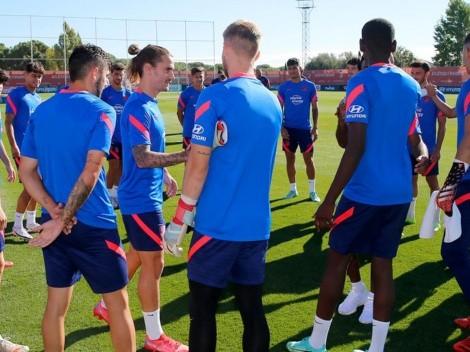 Griezmann tiene su segundo primer día con el Atlético