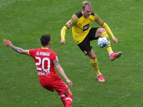 El Leverkusen de Charles Aránguiz se enfrenta al Dortmund de Haaland