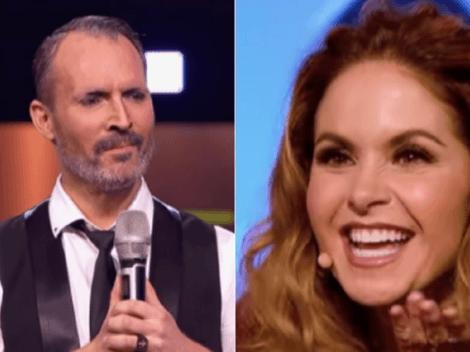 Lucero queda sorprendida ante presentación de imitador chileno de Miguel Bosé
