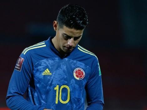 Buscalia asegura que James no estaba en condiciones en Colombia