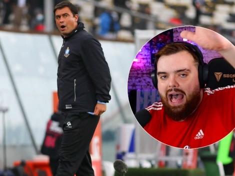 """Ibai y su mensaje a Antofagasta: """"Ándate rápido, JJ Ribera"""""""
