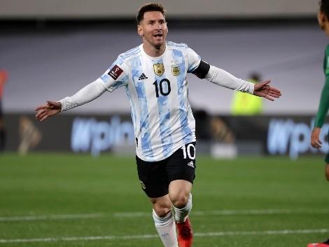 Un triplete histórico de Lionel Messi le da el triunfo a Argentina
