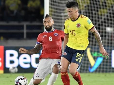 ¡Dolor! Chile cae ante Colombia y la tabla se parte