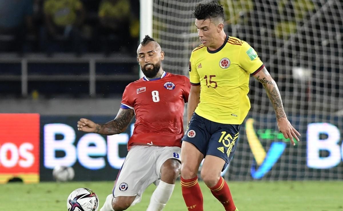 Chile vs Colombia | RESULTADO, GOLES y RESUMEN por las Eliminatorias Qatar  2022 | Compacto