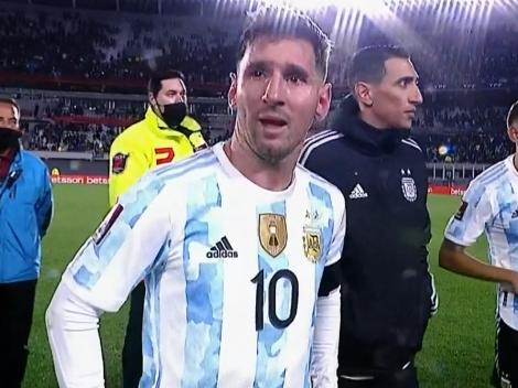 """Messi rompe en llanto: """"Esperé hace mucho tiempo esto"""""""
