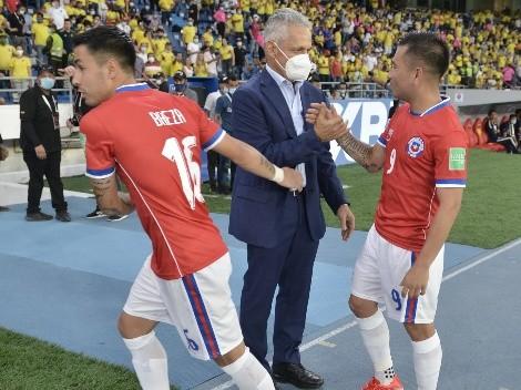 Rueda saca la pizarra y explica cómo le ganó a la Roja