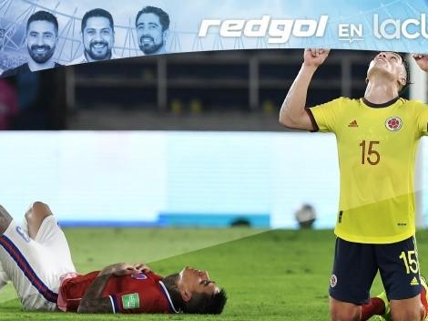 El balance de Colombia vs Chile en RedGol en La Clave