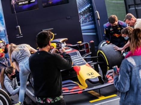 Red Bull la rompe con su desafío Pit Stop y lo lleva a Mall Sport