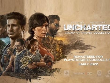 Uncharted anuncia remasterización y llegada a PC