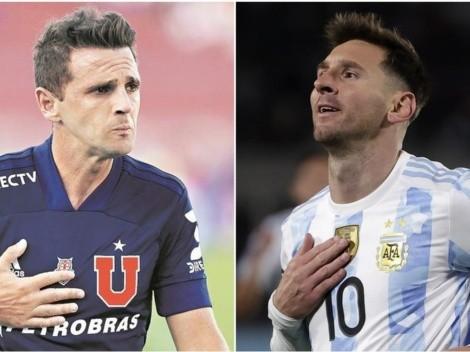 """Messi le toca la fibra a Walter Montillo: """"No es sólo fútbol"""""""