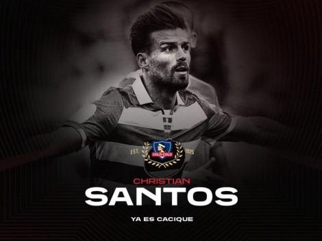Colo Colo hace oficial la contratación de Christian Santos