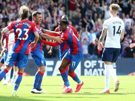 Crystal Palace da un baile y le quita el invicto al Tottenham