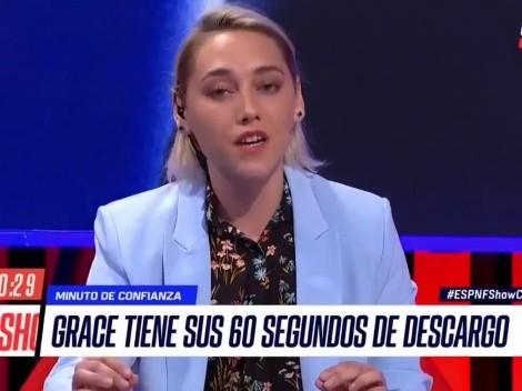 """La polémica reflexión de Grace: """"Yo exculpo a Martín Lasarte"""""""