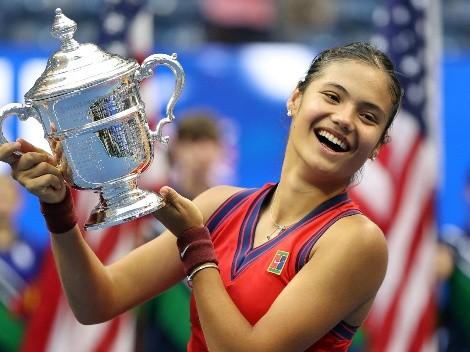 Emma Raducanu se queda con el US Open sin perder un set