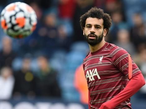 Mo Salah le anota al Leeds y alcanza 100 goles en Premier
