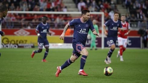 Messi debuta en Champions con la camiseta del PSG.