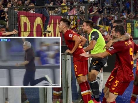 ¡Una locura! Gol en los descuentos, Mou explota y la Roma es líder