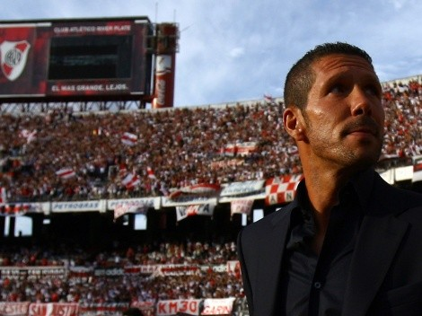 Simeone compara su monstruoso Atlético con el River de Alexis