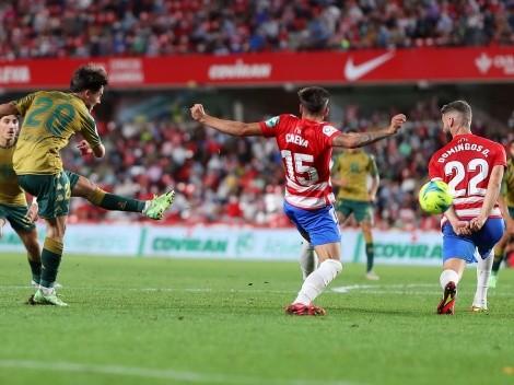 Betis de Pellegrini vence a Granada con Bravo en el banquillo