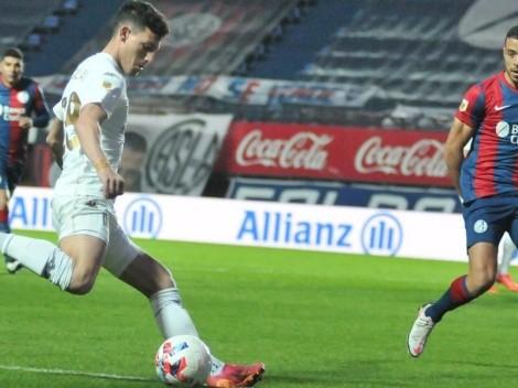 Racing de Arias y Mena logra igualar en la última ante San Lorenzo