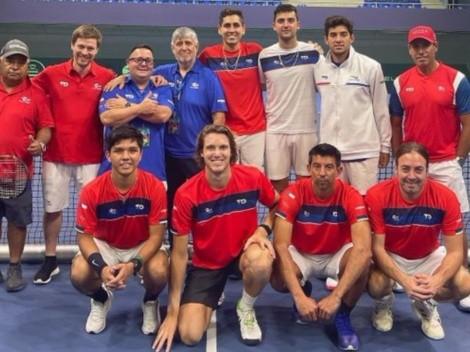 Massú alienta al equipo de Chile de cara a la Copa Davis