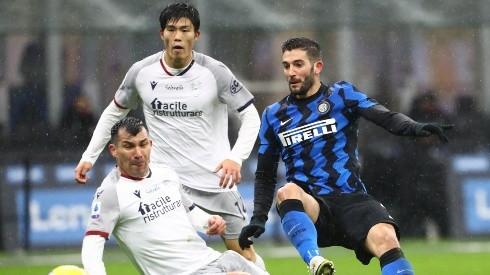 Inter y Bologna llegan igualados en puntaje al duelo de la Serie A. Foto: Getty