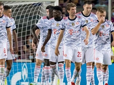 Suerte y gol: Müller pone el 1-0 para Bayern contra Barcelona