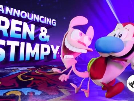 Nickelodeon All Star Brawl anuncia a Ren & Stimpy