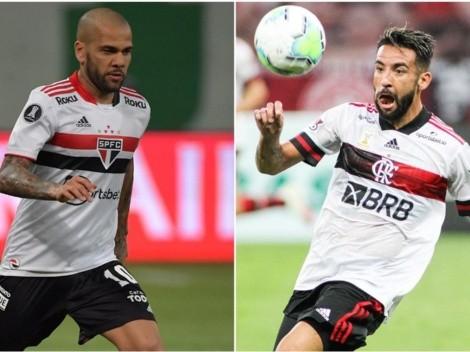 Sufre Huaso Isla: arribo de Dani Alves a Flamengo está cerca