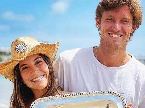 Jarry confirma que será padre en la previa de la Copa Davis